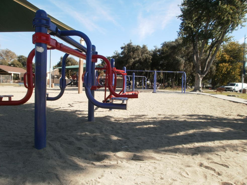 Image of Mountain View Park Jungle Gym