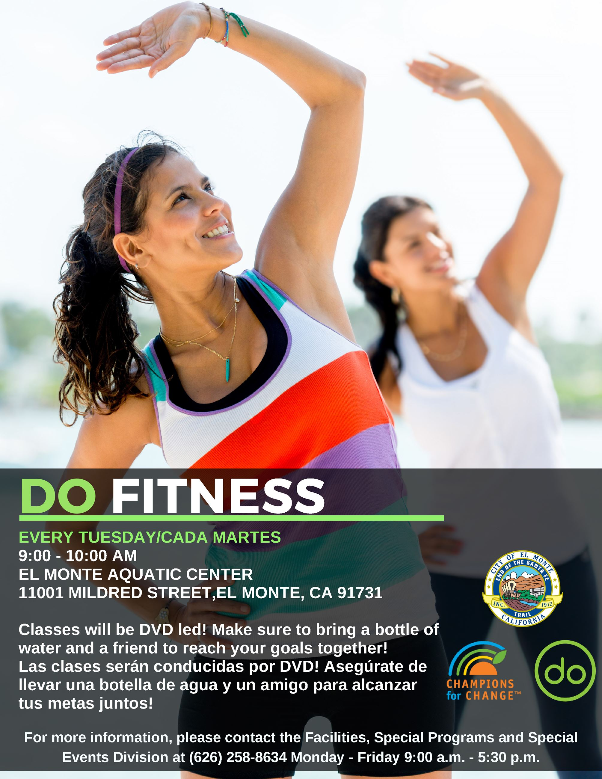 DO Fitness Flyer