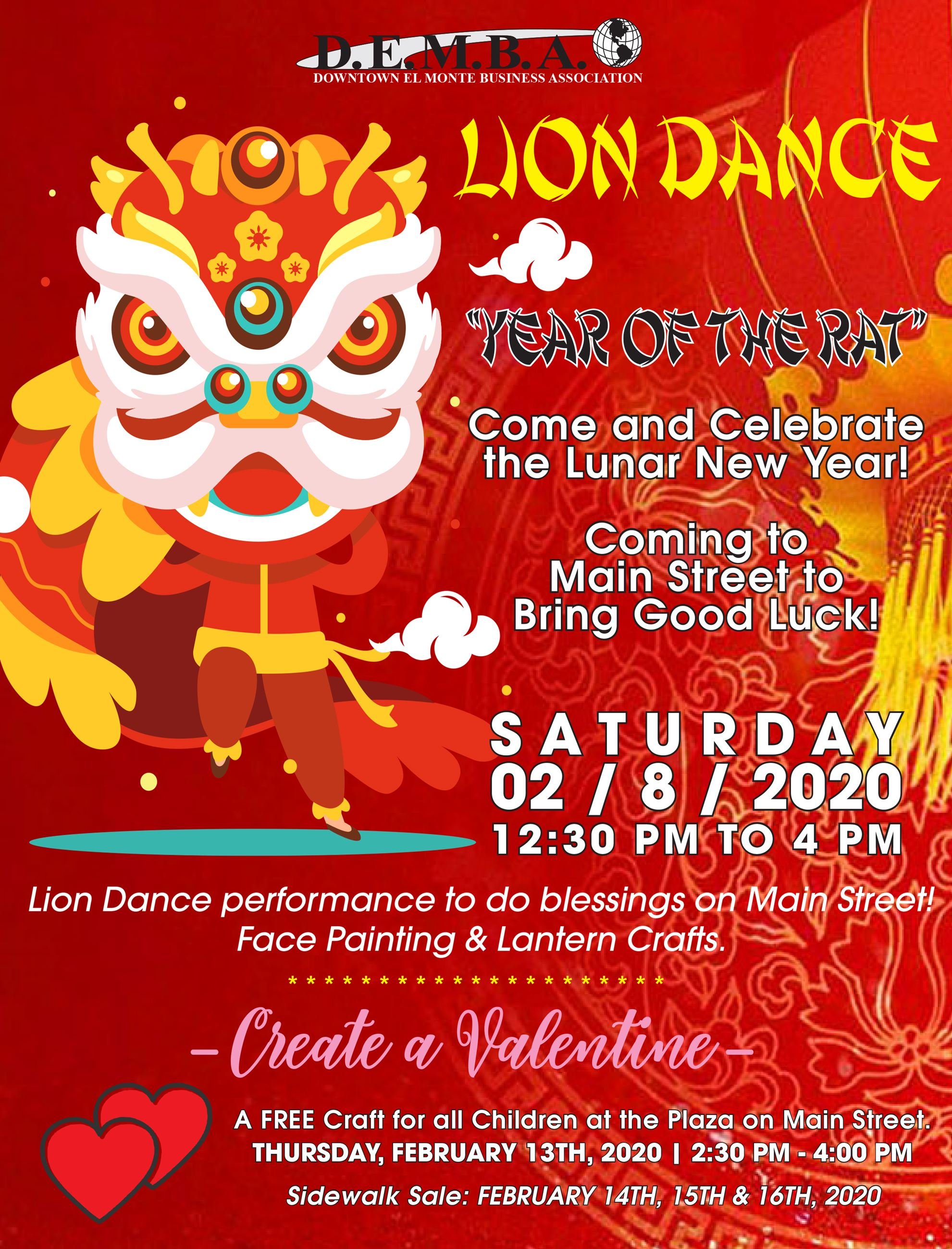 2nd Proof - DEMBA_2020 Lion Dance and Create A Valentine FLYER